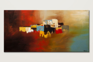 Du Soleil - Modern Abstract Art Painting