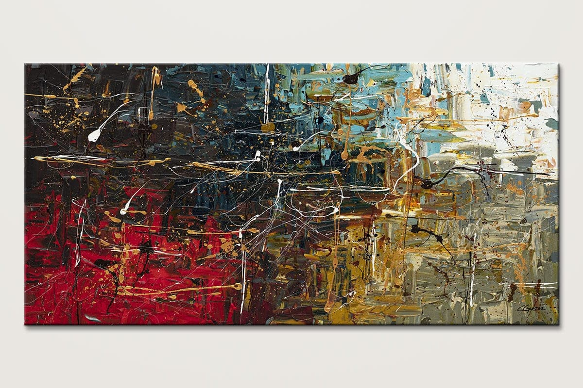 Equilibrium Abstract Wall Art Painting Id80