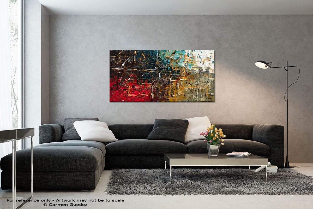 Equilibrium Black And White Wall Abstract Art Painting Id70