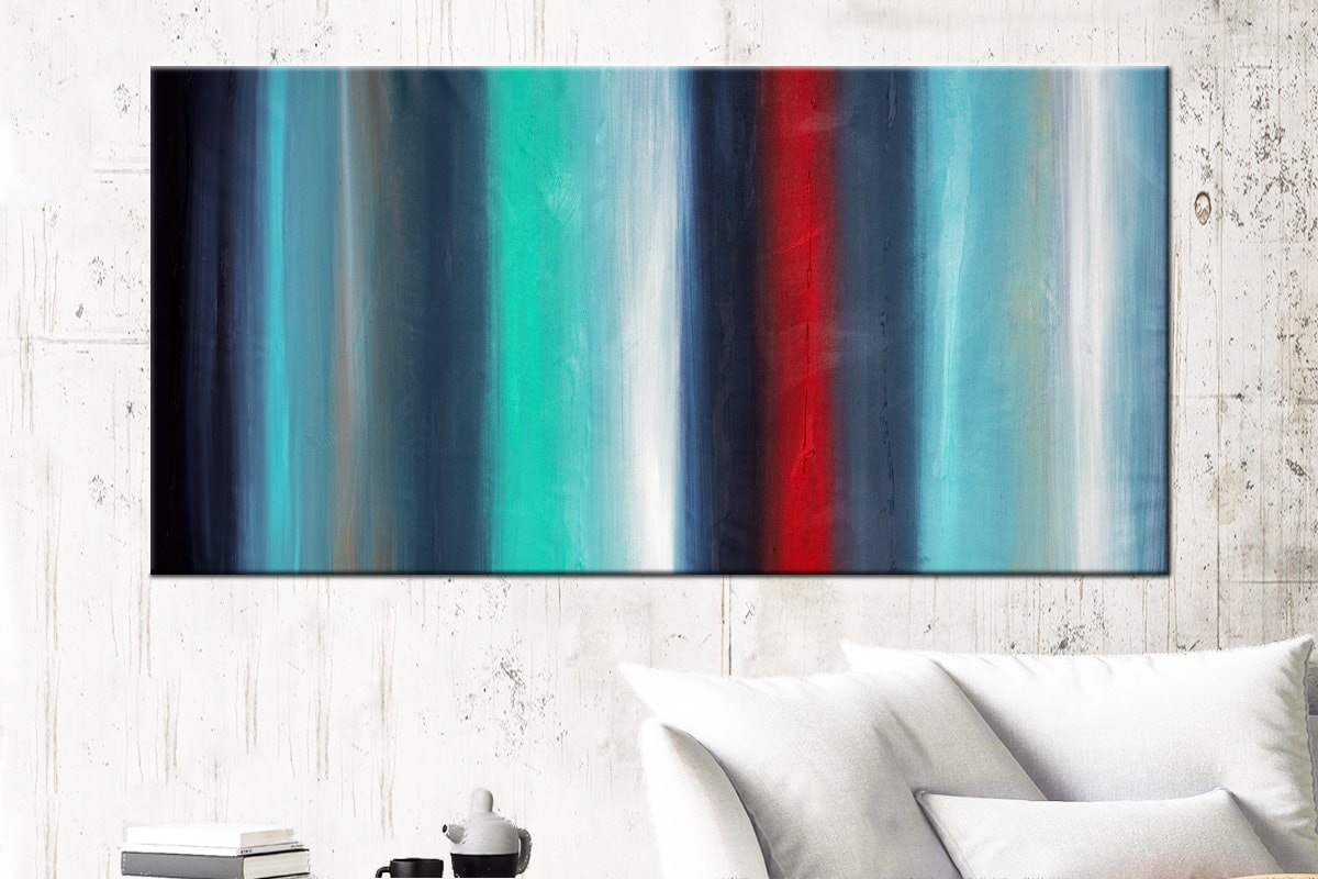 Equinox Abstract Art Canvas Painting Id72