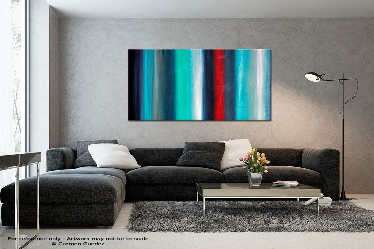 Equinox3 Black And White Abstract Art Living Room Id2