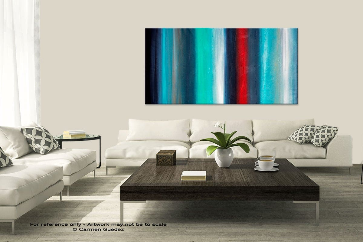 Equinox3 Modern Large Abstract Art Painting Id8
