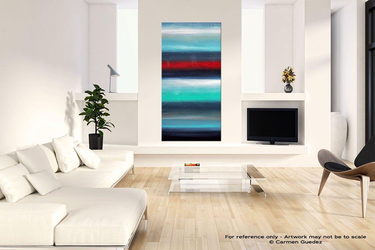 """Original Wall Art Abstract Painting """"Equinox"""""""