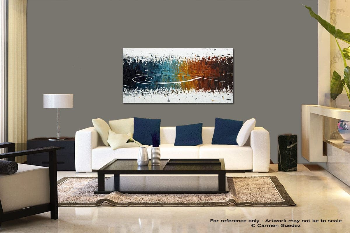 Eye Of The Beholder Modern Abstract Art Painting Living Room Id37