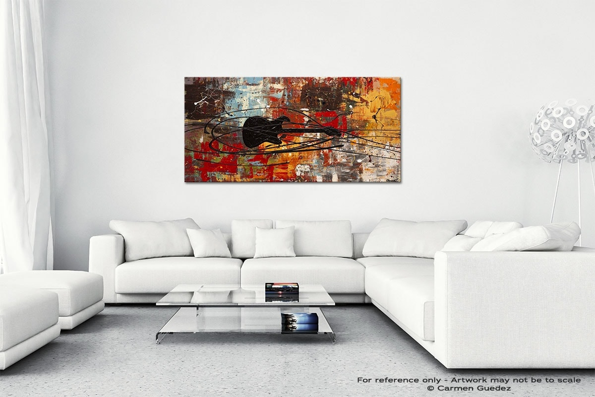 Feel The Freedom Wall Art Canvas Painting Id40