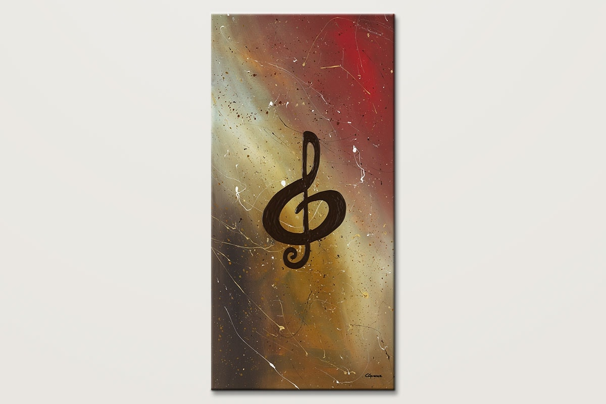 Filled With Music Music Art Canvas Painting