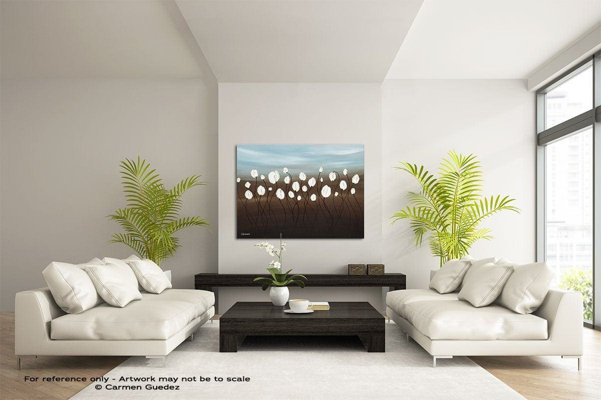 Fiori Di Monte Large Modern Abstract Art Painting Id49