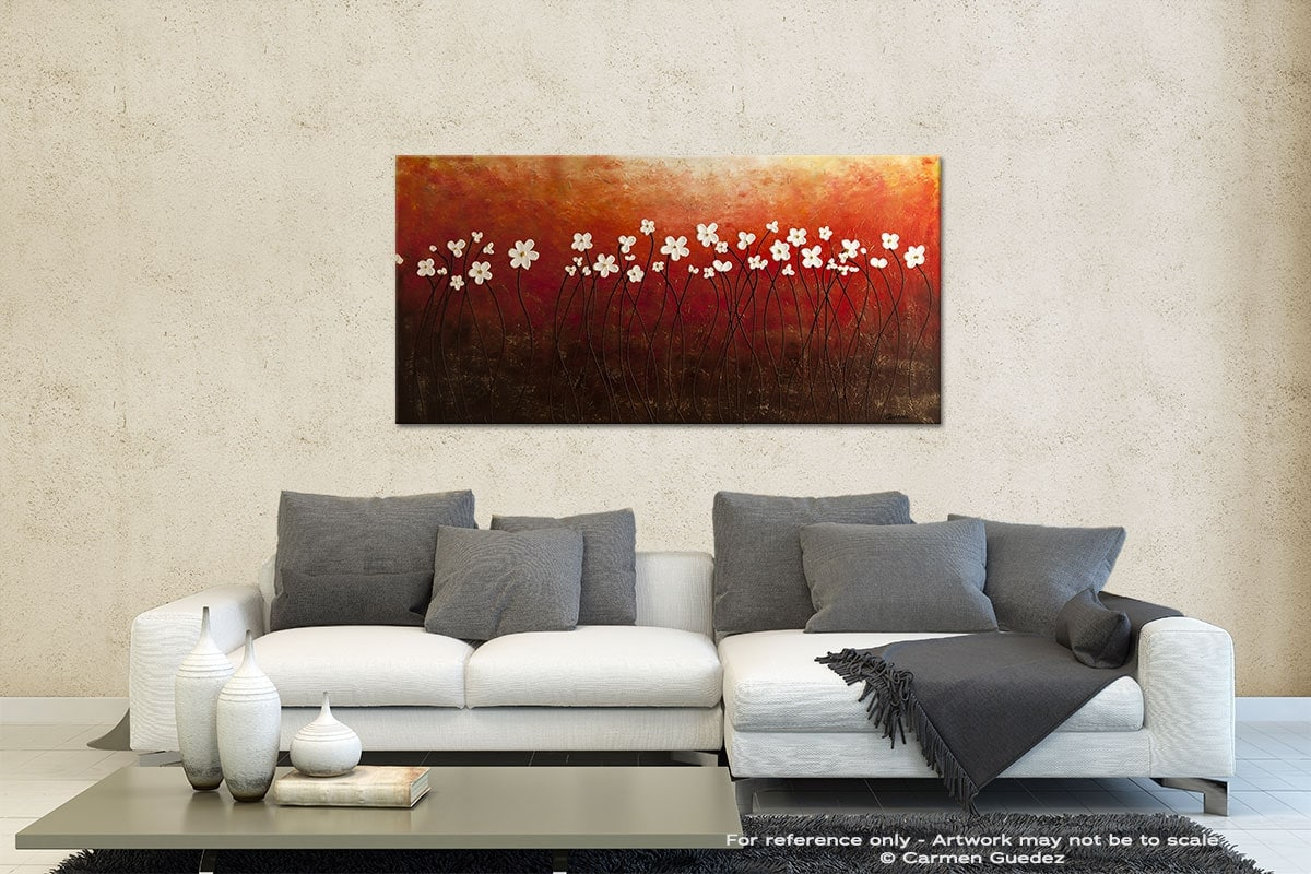 Floral Inspiration Contemporary Abstract Art Id35
