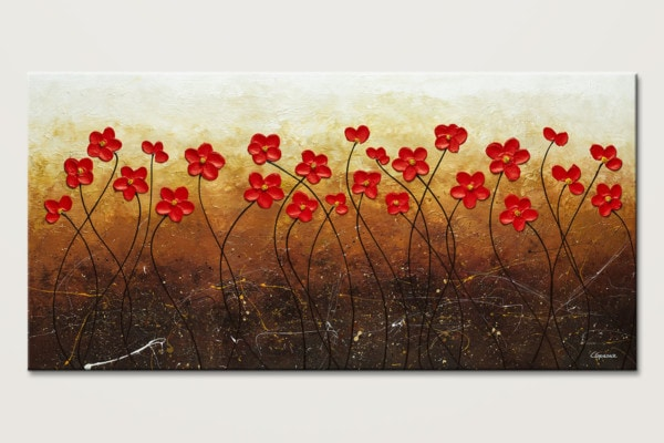 Flores De Mi Jardin Abstract Painting Id80