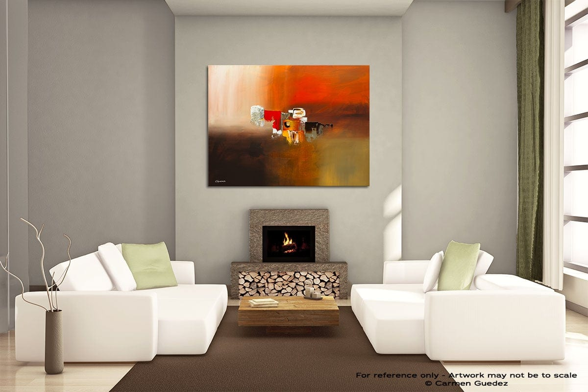 Fond Memories Painting On Canvas Large Living Room Id52
