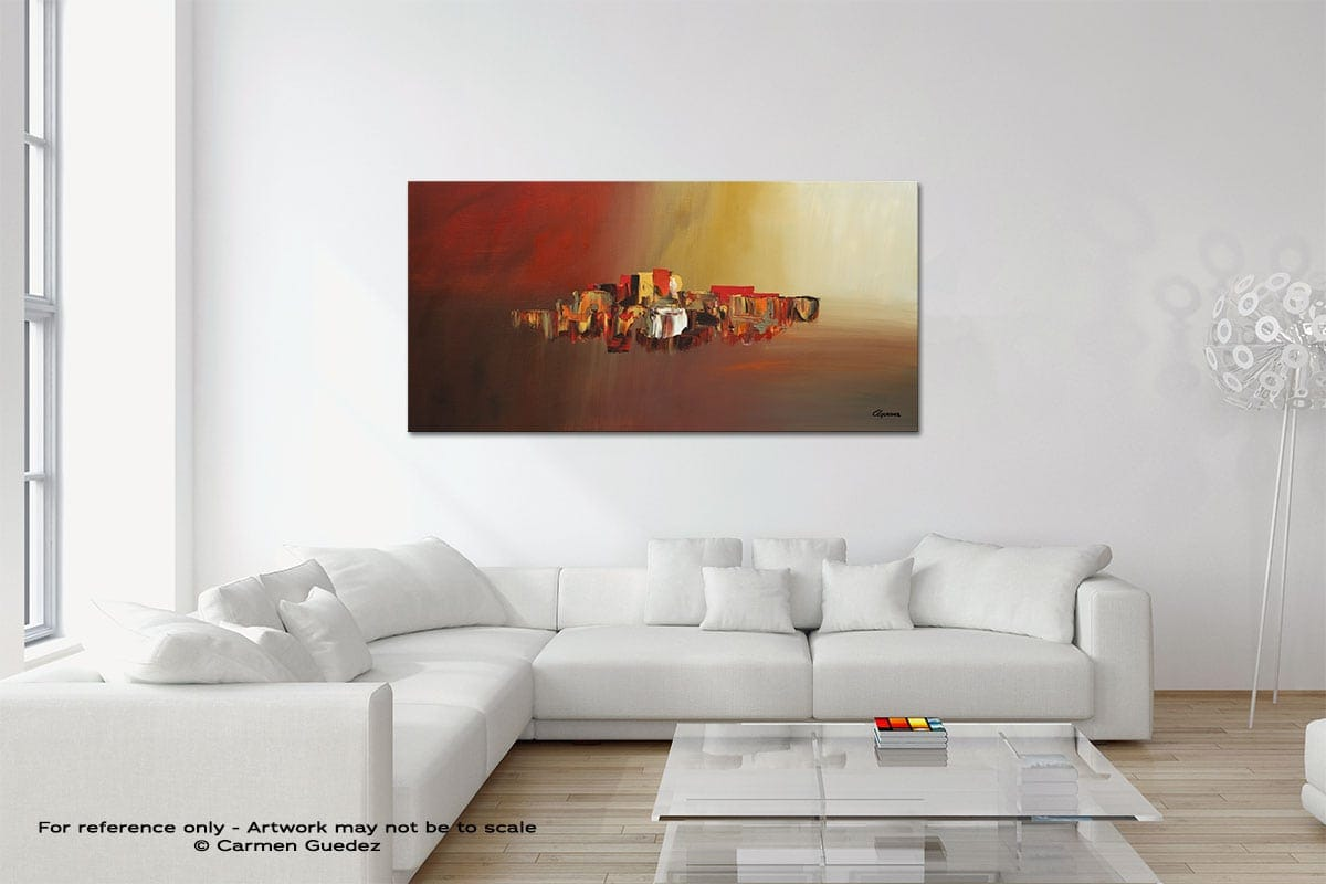 Forever Never Ends Original Neutral Abstract Wall Art Room Id39