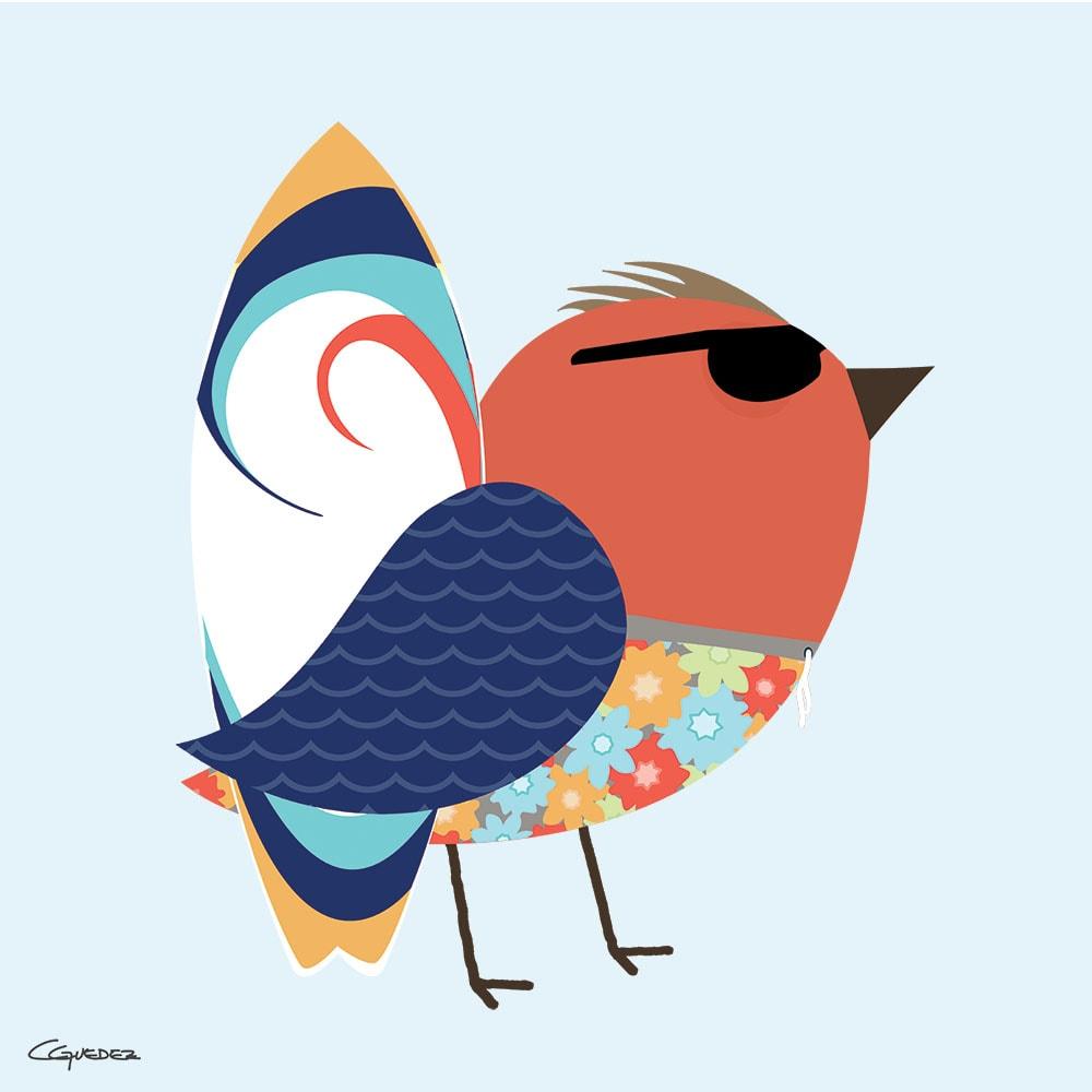 Fraser Bird Nft Art