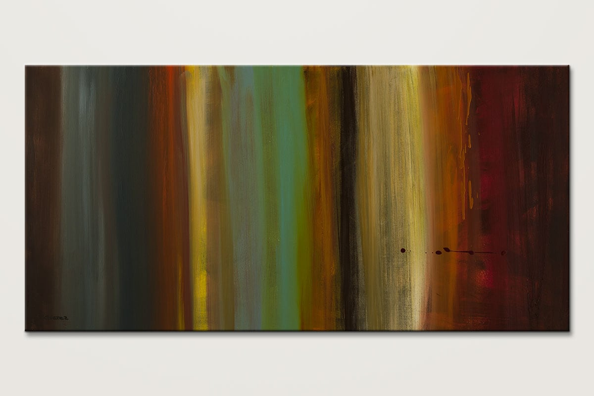 Free Flow Contemporary Abstract Painting Id80