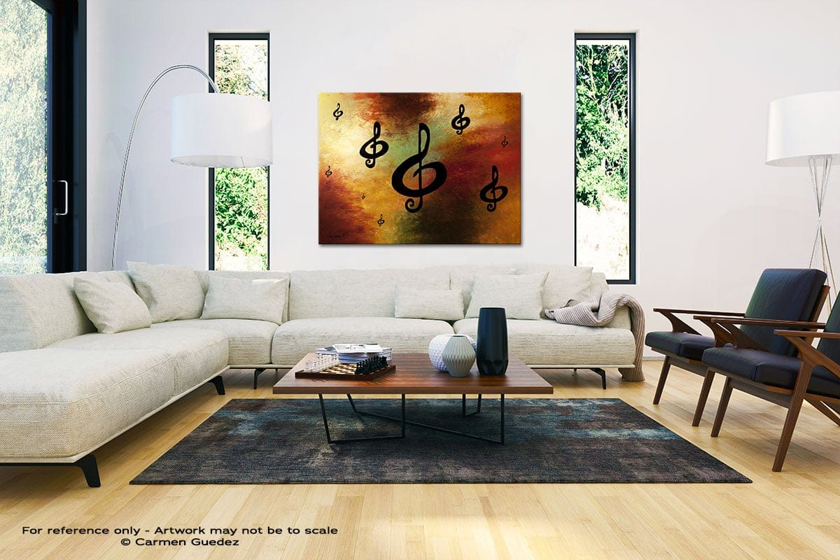 G Rhapsody Black And White Interior Decor Abstract Art Id46