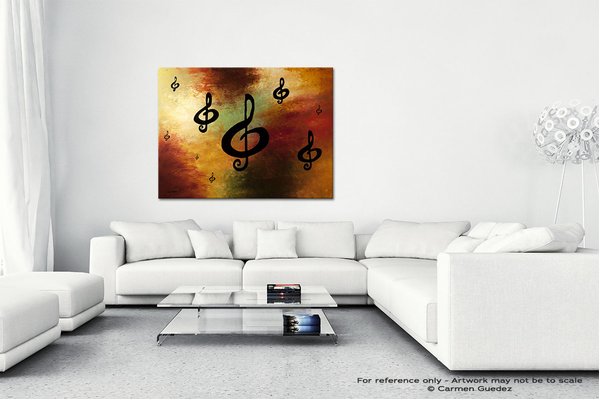 G Rhapsody Canvas Art Abstract Painting Id47
