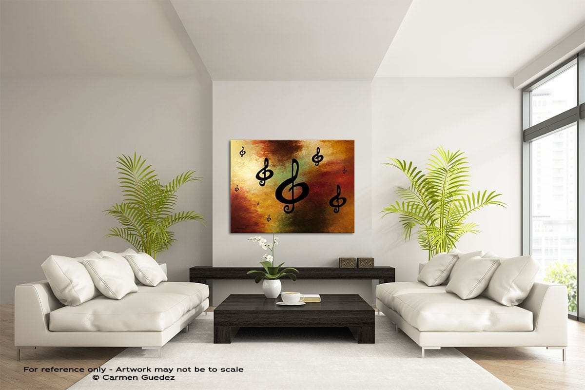 G Rhapsody Large Modern Abstract Art Painting Id49