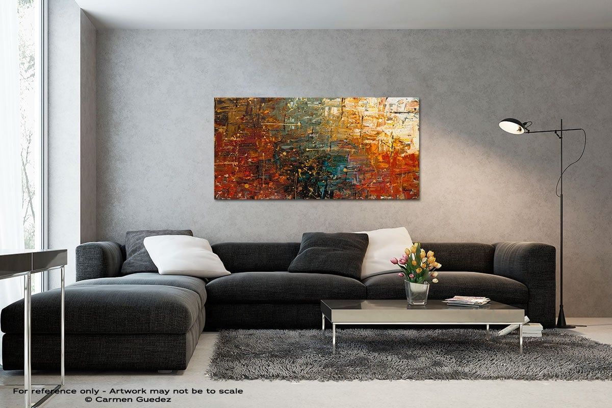 Gold Splash Black And White Wall Abstract Art Painting Id70