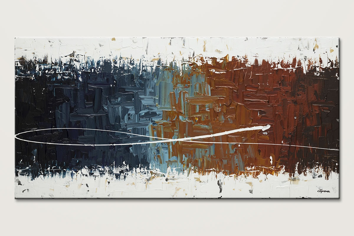 Good Feeling Large Wall Art Abstract Painting Id80