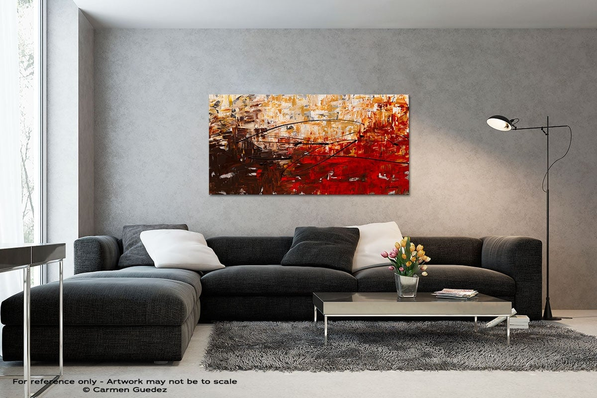 Grand Vision Black And White Wall Abstract Art Painting Id70