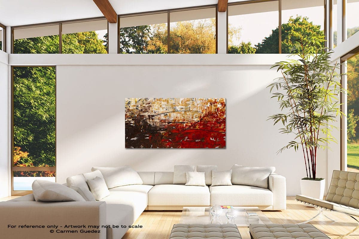 Grand Vision Modern Canvas Abstract Art Id38