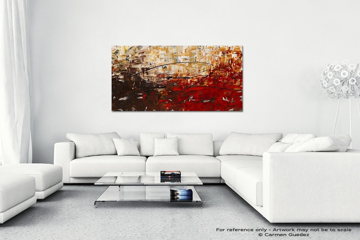 Grand Vision Wall Art Canvas Painting Id40