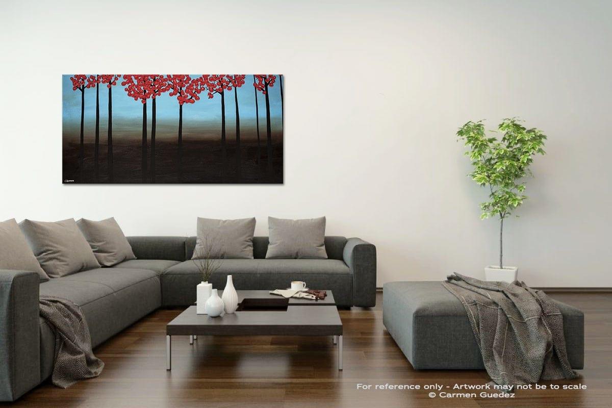 Gratitude Acrylic Gray Wall Art Painting Id34