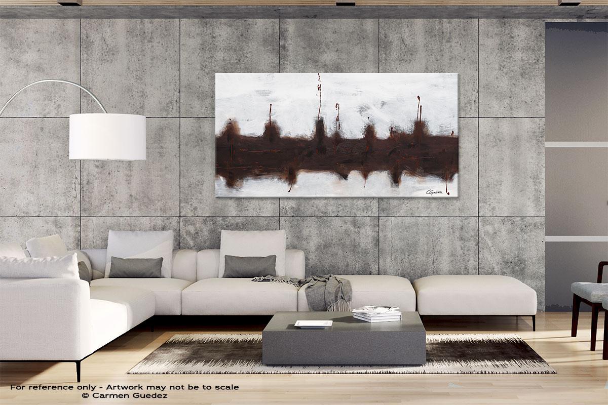 Gray Abstract Wall Art Id4 Le Port