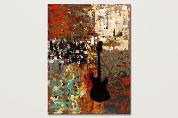 Guitar Quest Music Art Painitng Id80