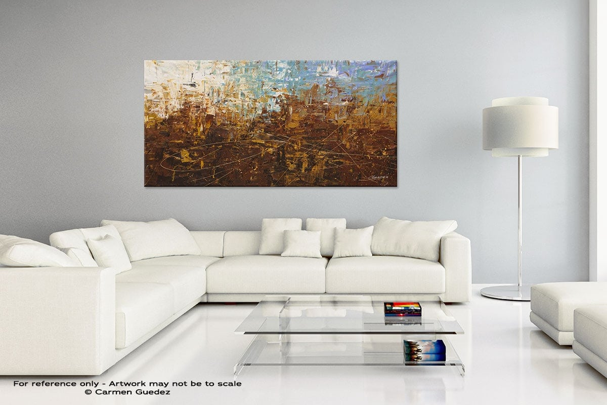 Handmade Canvas Art Painting Home Id5 Benvenuto