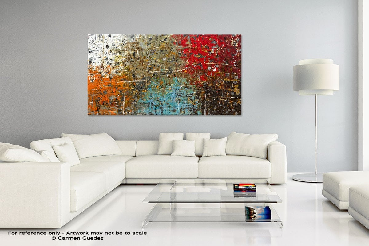 Handmade Canvas Art Painting Home Id5 Now Or Never