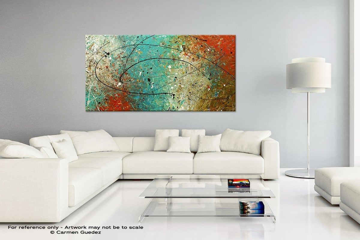 Handmade Canvas Art Painting Home Id5 Sight To Behold