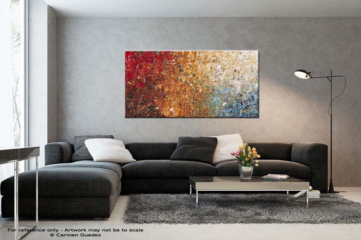 Happy Place Black And White Wall Abstract Art Painting Id70