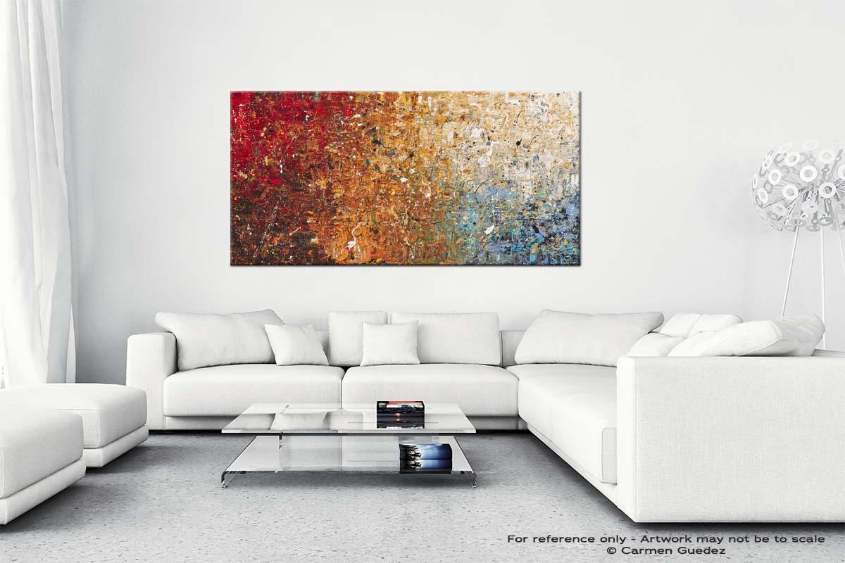 Happy Place Wall Art Canvas Paintin Id40