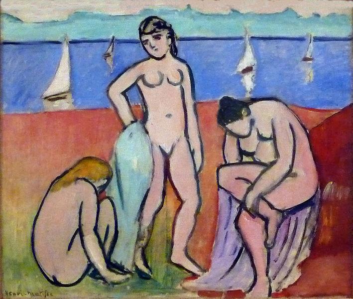 Henri Matisse Les Trois Baigneuses