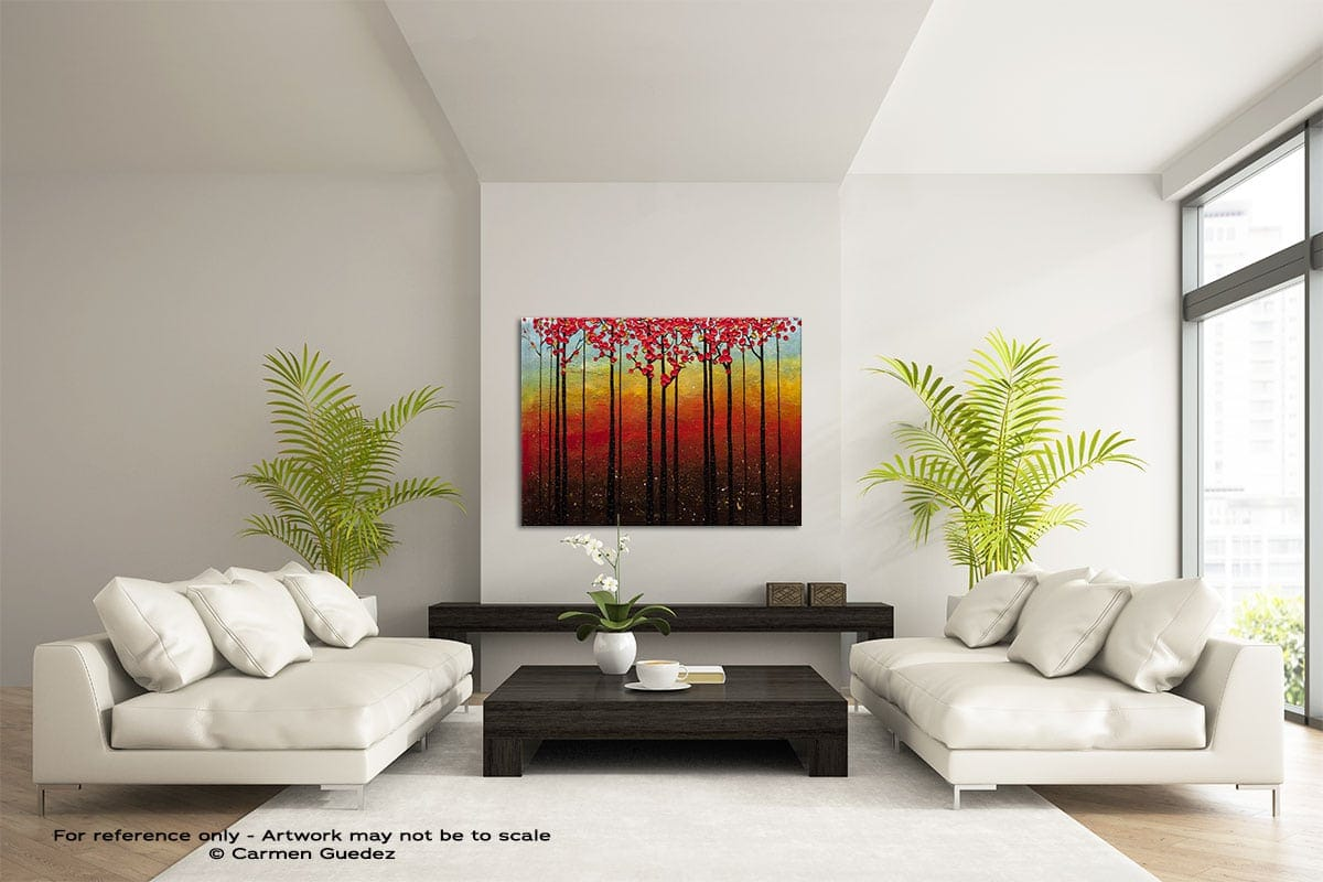 High Road Large Modern Abstract Art Painting Id49