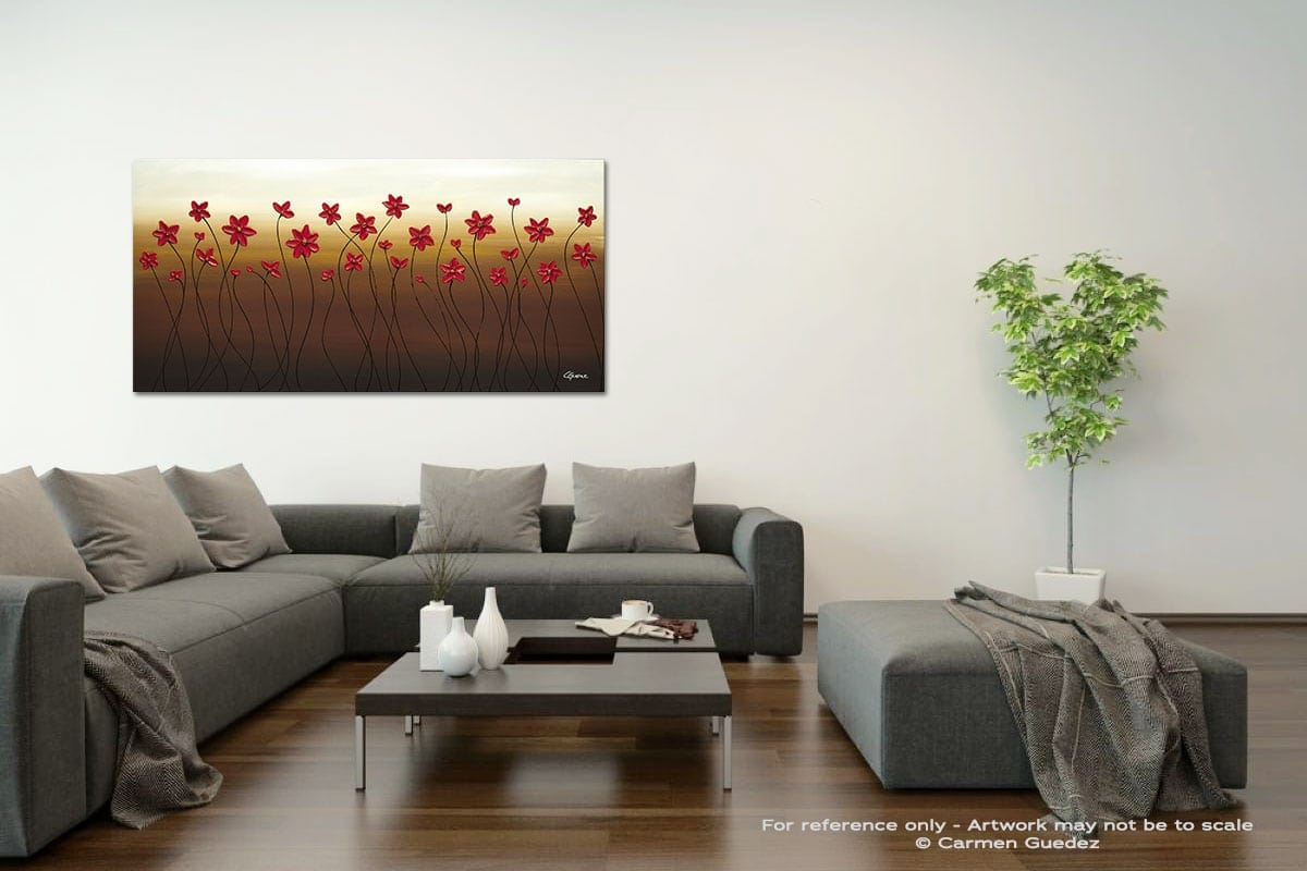 Holiday Season Acrylic Gray Wall Art Painting Id34