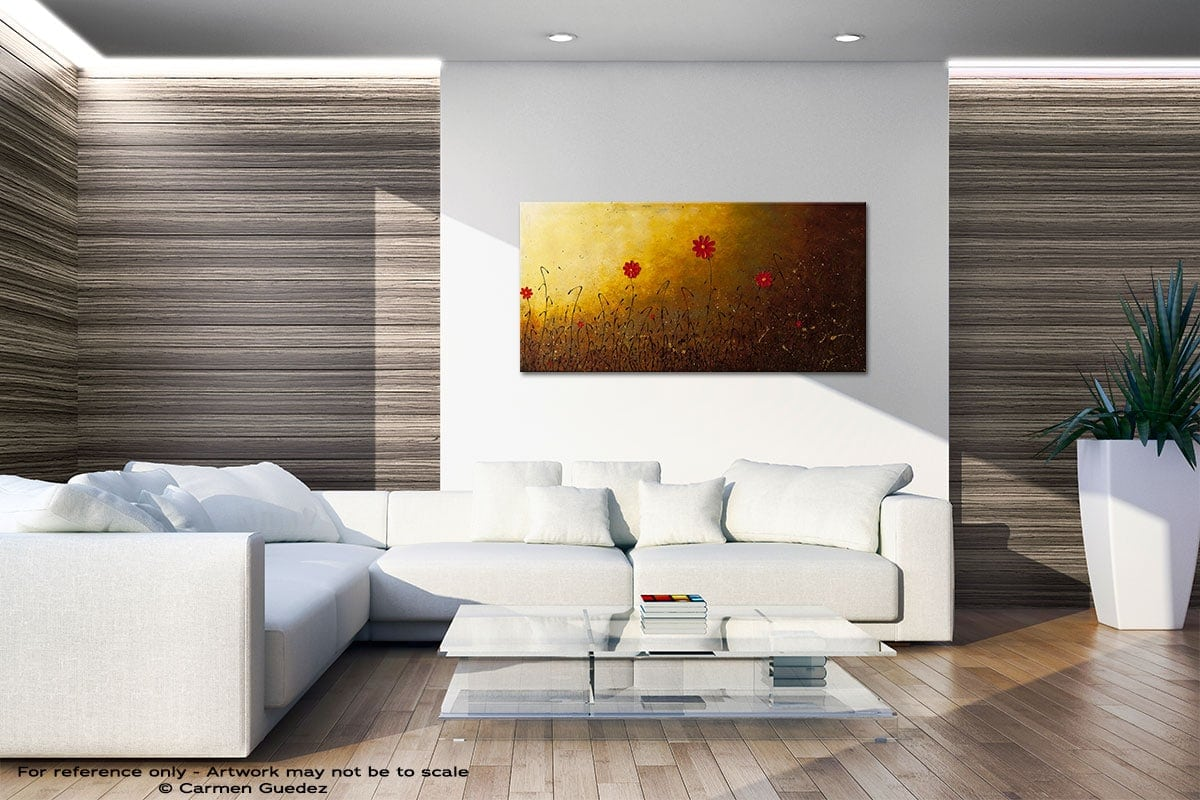 Home Is Where The Heart Is Large Abstract Art Id36