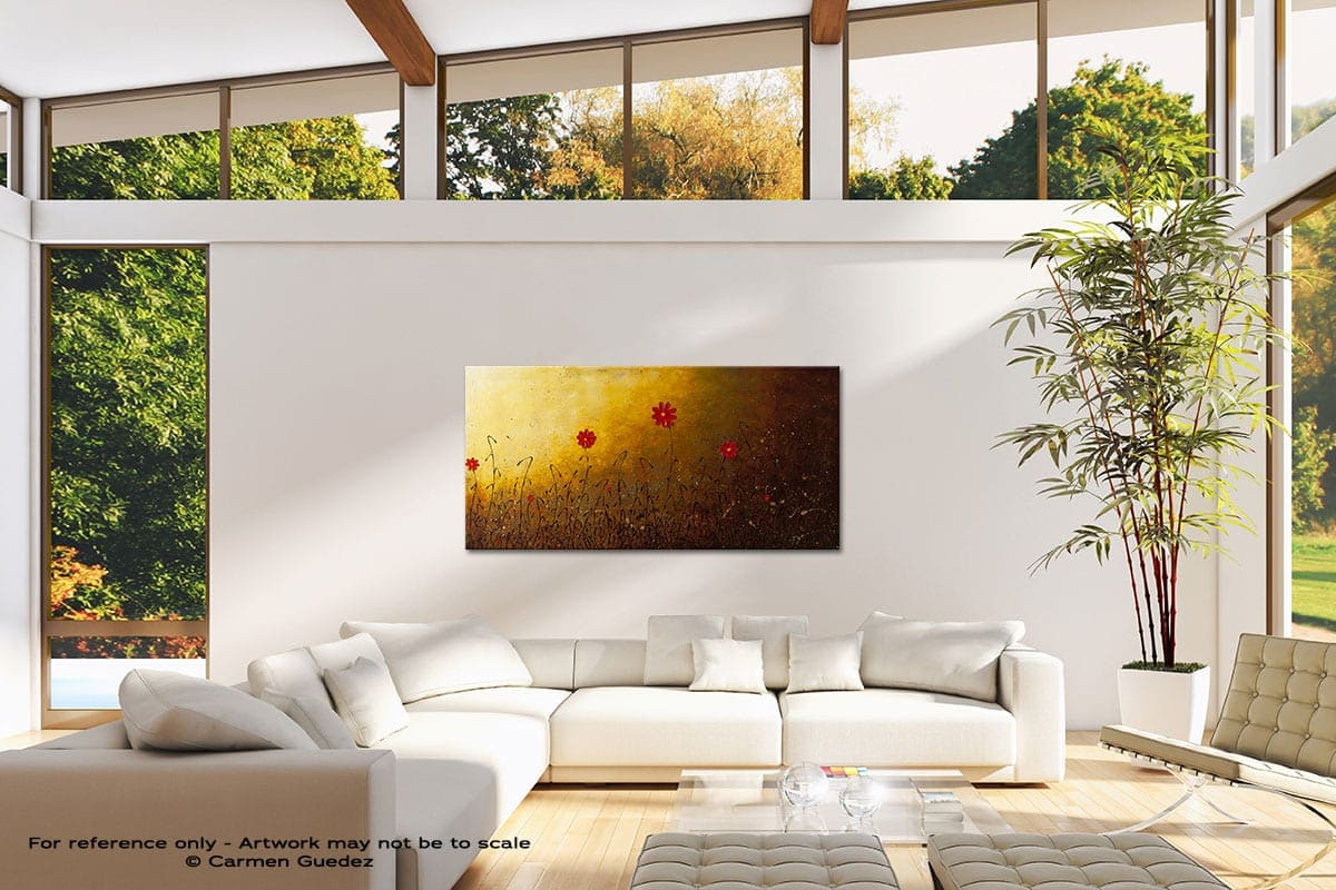 Home Is Where The Heart Is Modern Canvas Abstract Art Id38