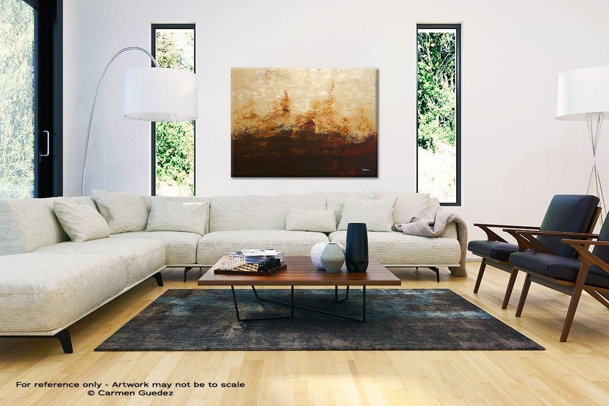 Horizonte Black And White Interior Decor Abstract Art Id46