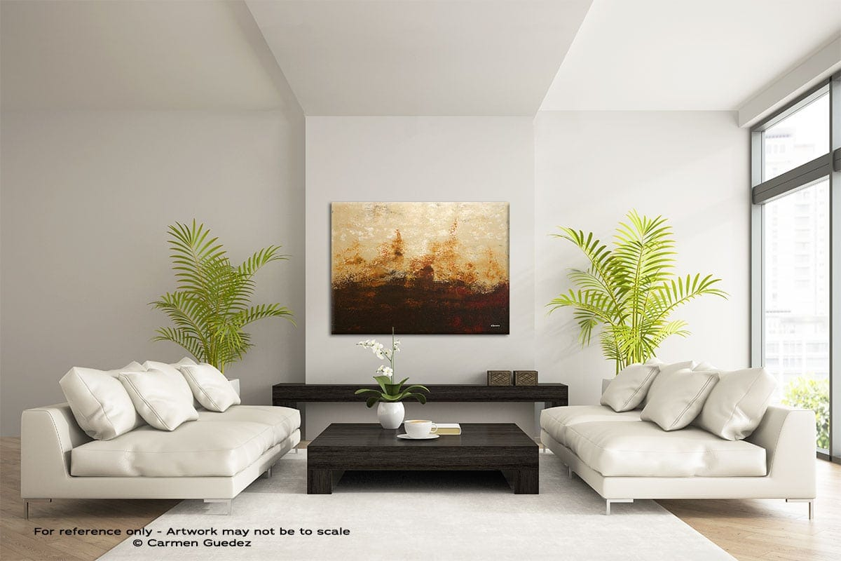 Horizonte Large Modern Abstract Art Painting Id49