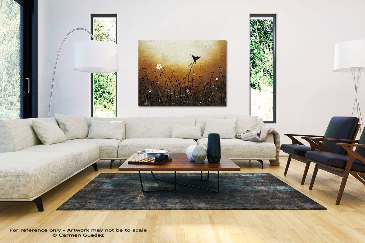 Humming Along Black And White Interior Decor Abstract Art Id46
