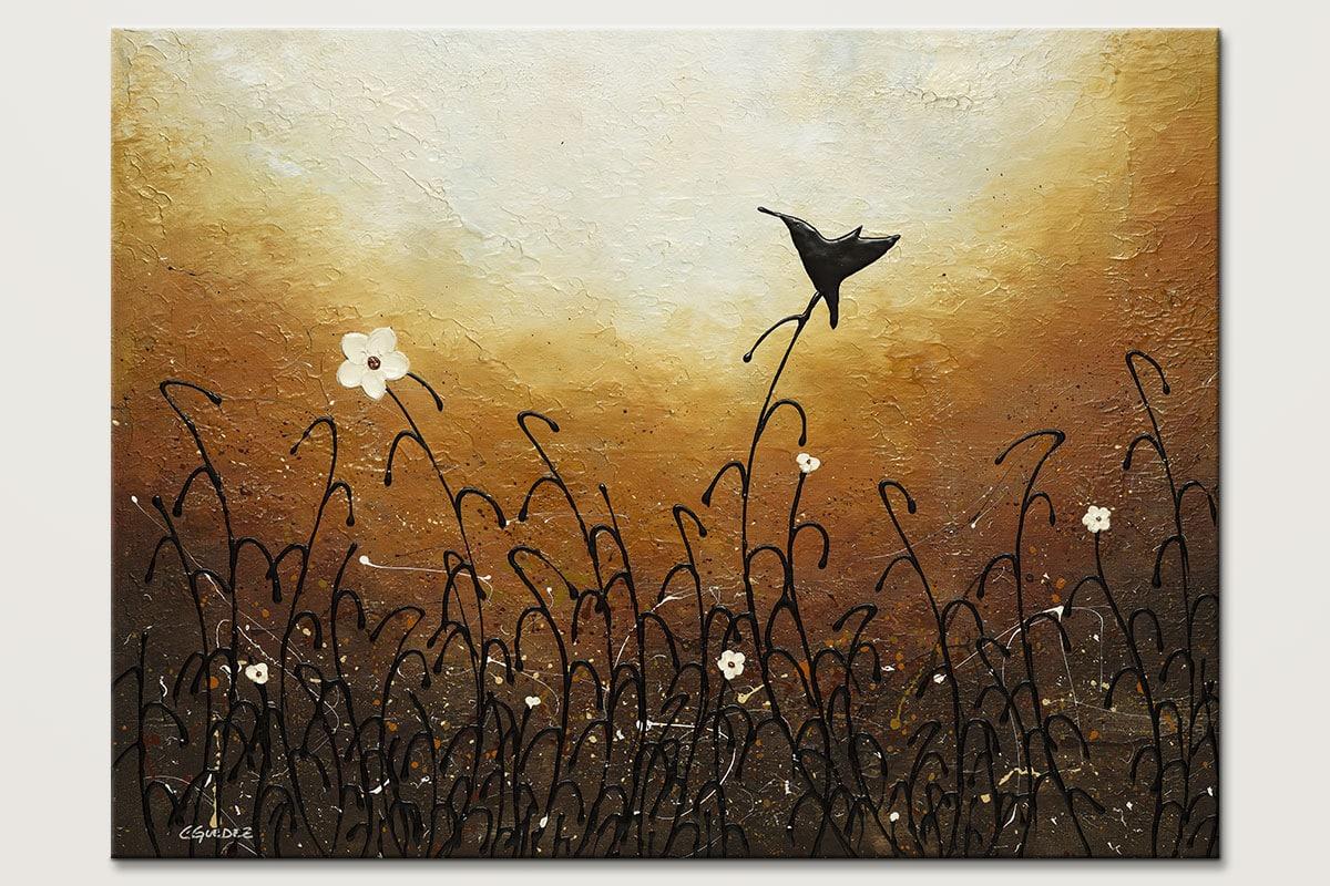 Humming Along Hummingbird Art Painting Id80