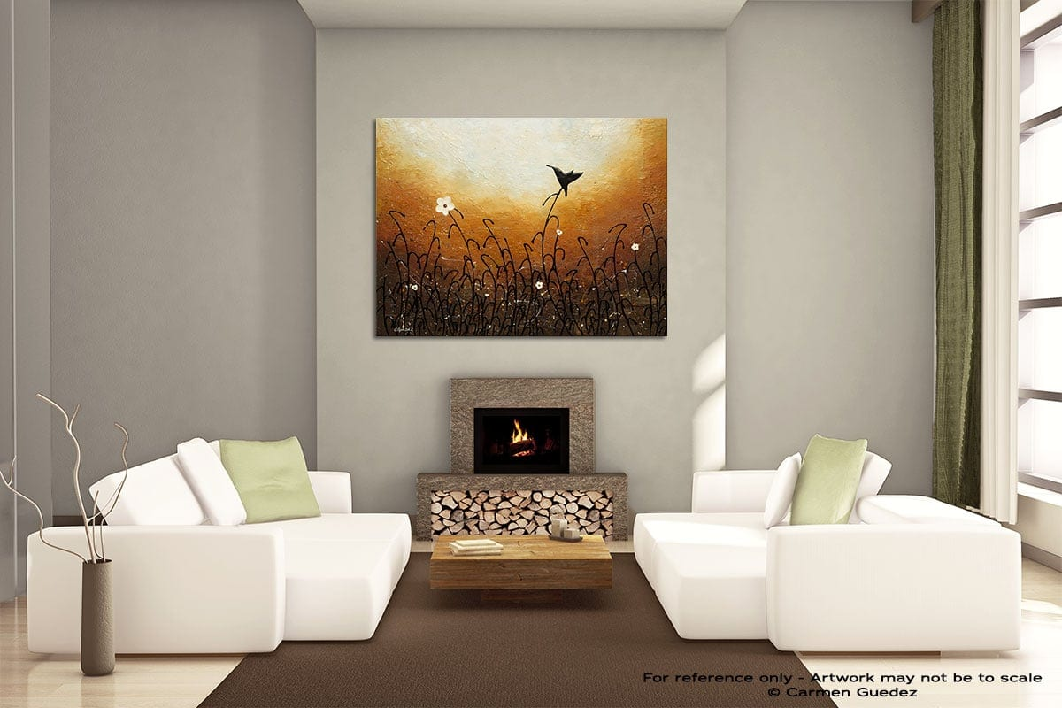 Humming Along Painting On Canvas Large Living Room Id52
