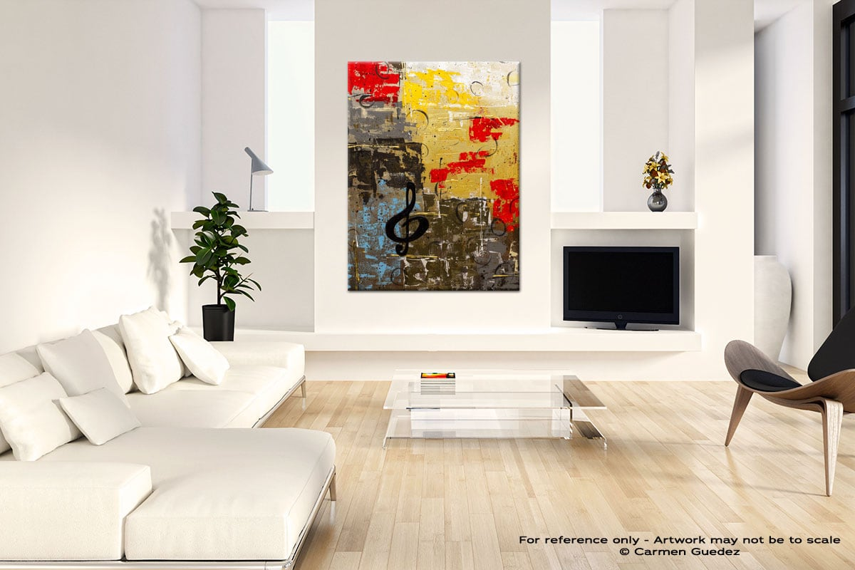 I Like It Like That Neutral Wall Abstract Painting Living Room Id55