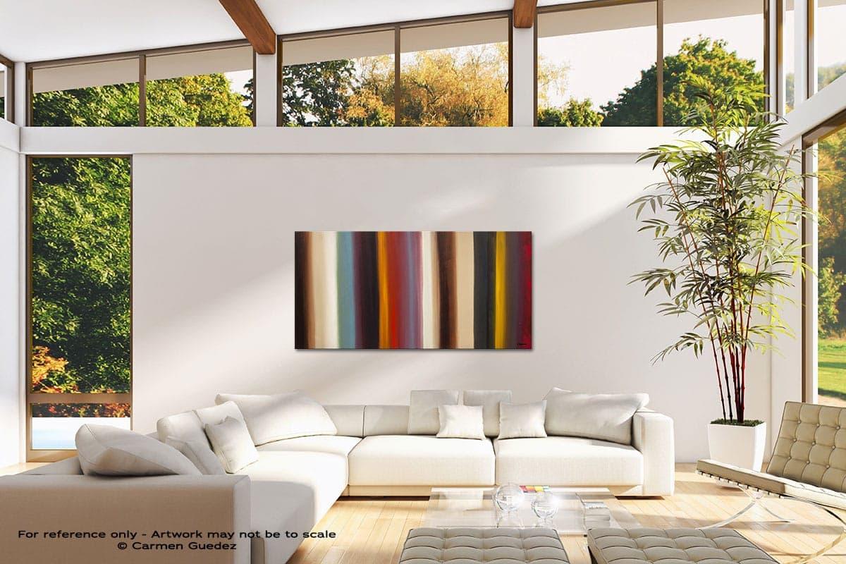 Illusion Modern Canvas Abstract Art Id38