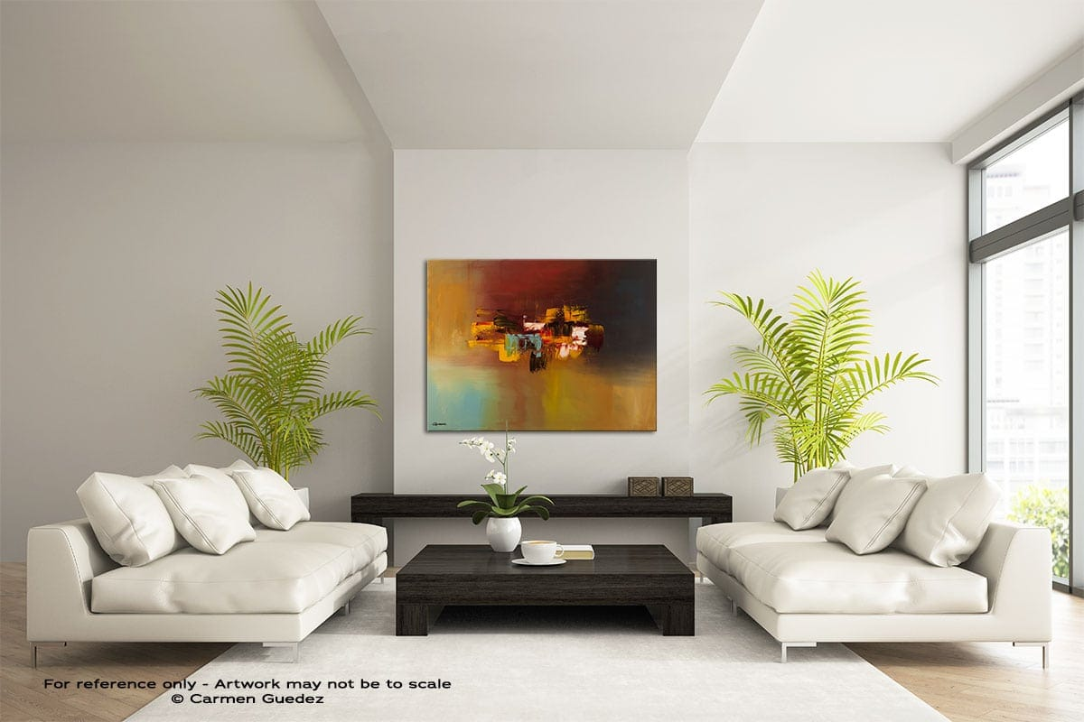 Imagine Large Modern Abstract Art Painting Id49