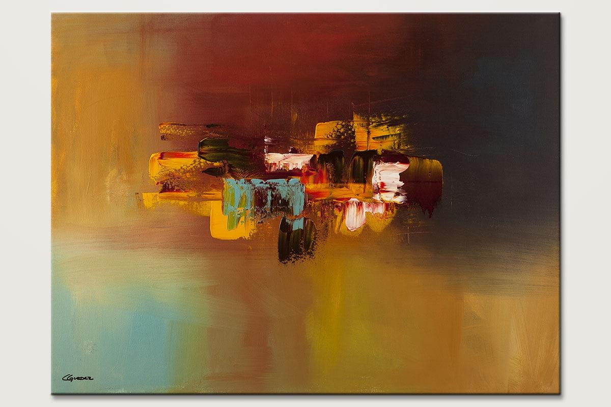 Imagine Modern Abstract Art Painting Id80