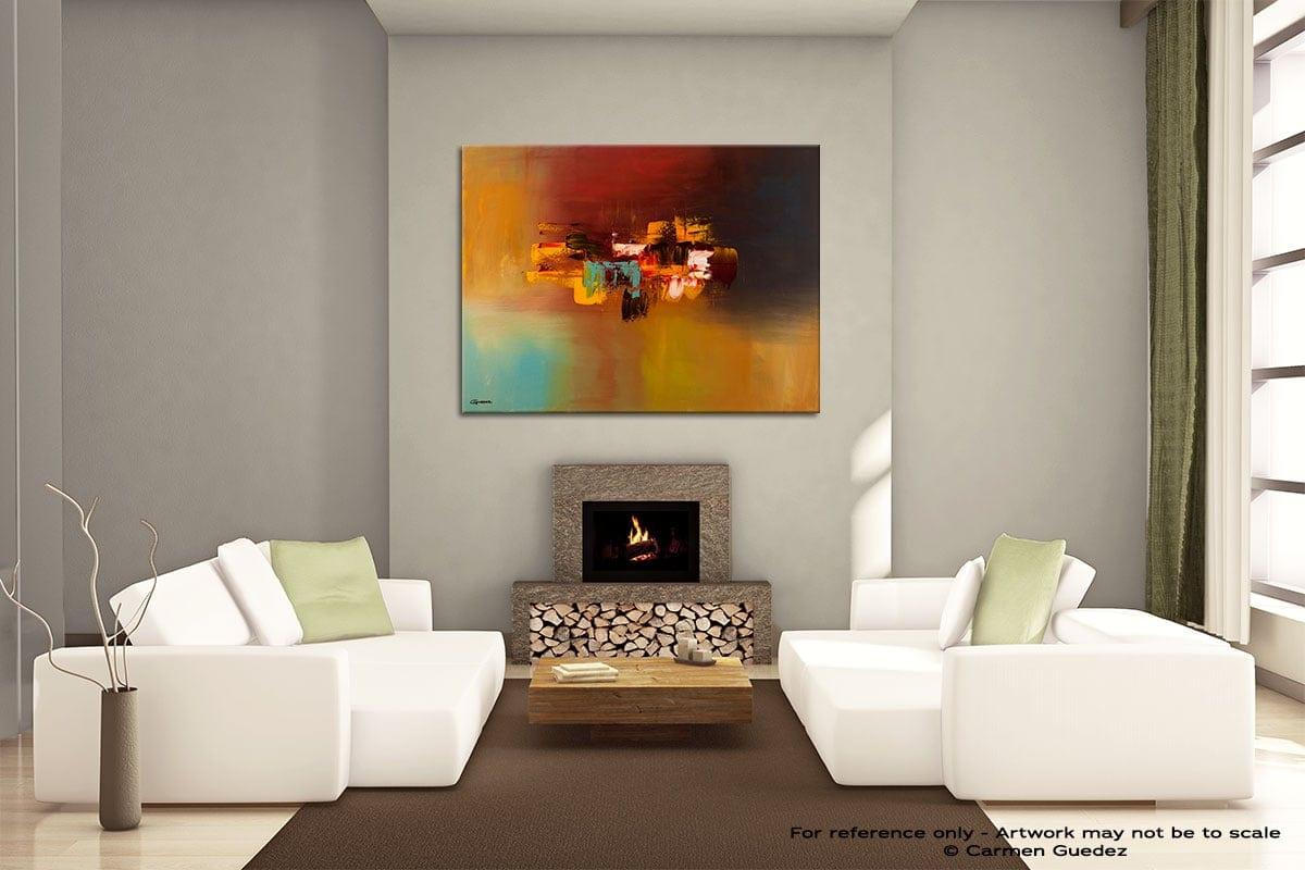 Imagine Painting On Canvas Large Living Room Id52