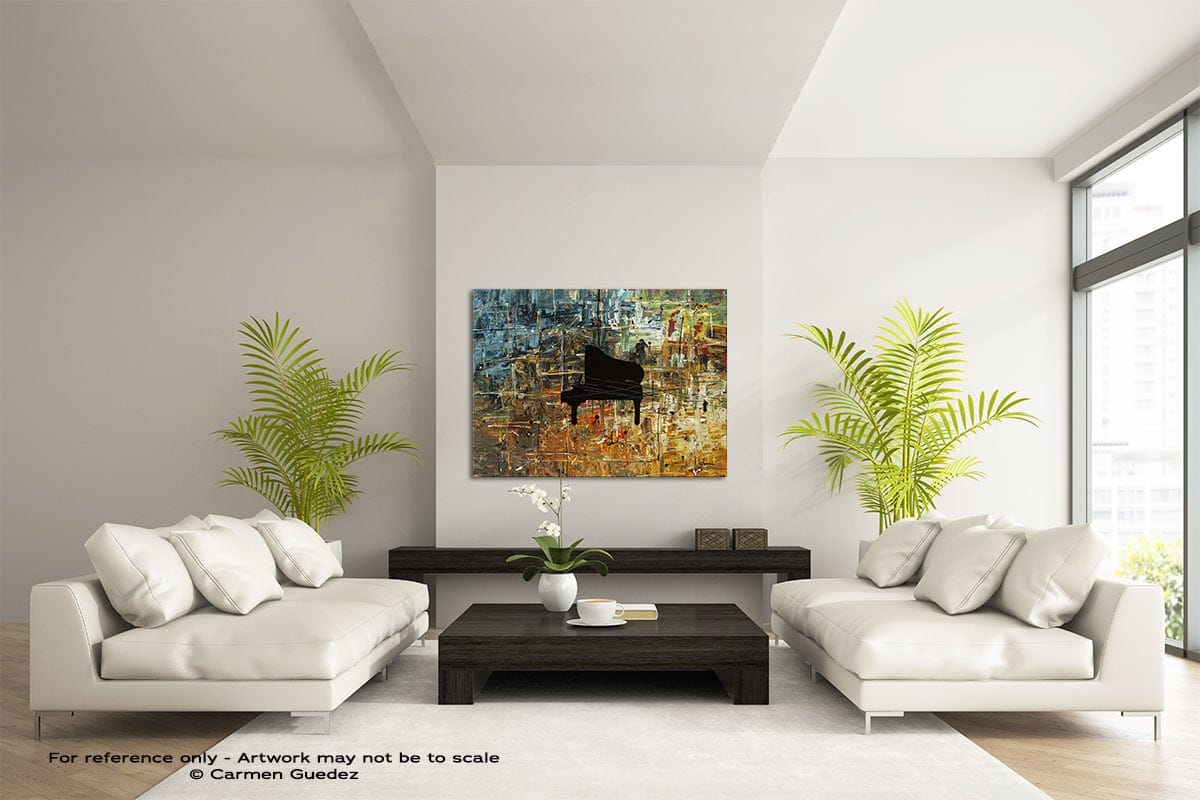 Impromptu Large Modern Abstract Art Painting Id49