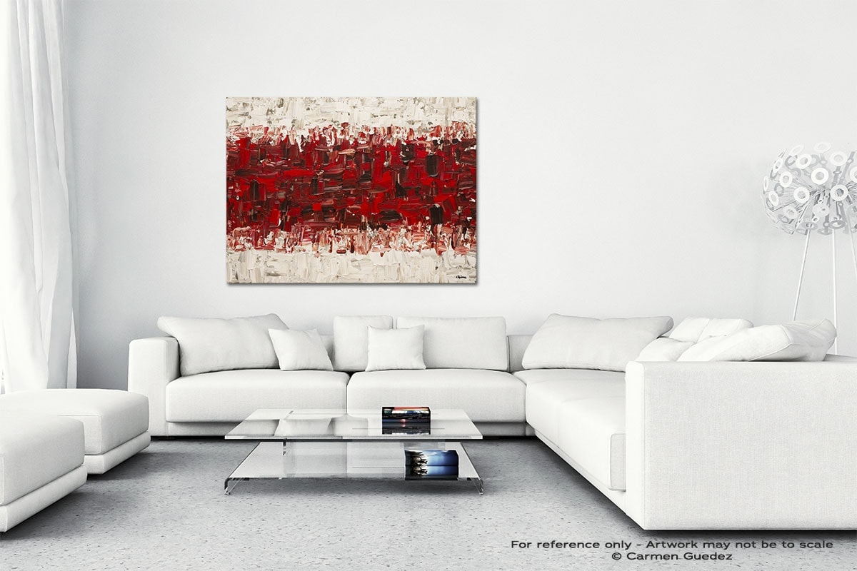 In Between Canvas Art Abstract Painting Id47